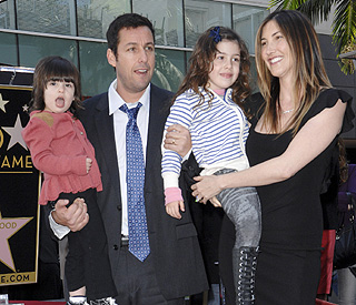 Kids steal show at Adam Sandler's star ceremony | Latest ...