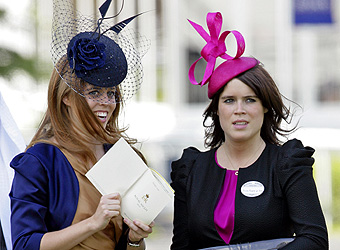 Princess Power: Bea, Eugenie and Haya on fascinating form as they race ahead on style