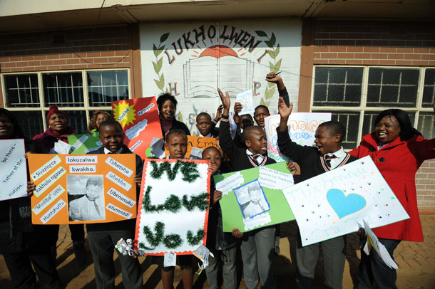 Happy Birthday Wishes In Xhosa ~ Nelson mandela is spending his th birthday in hospital