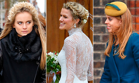 Cressida Bonas and Princess Beatrice attend society wedding with newly engaged Guy Pelly
