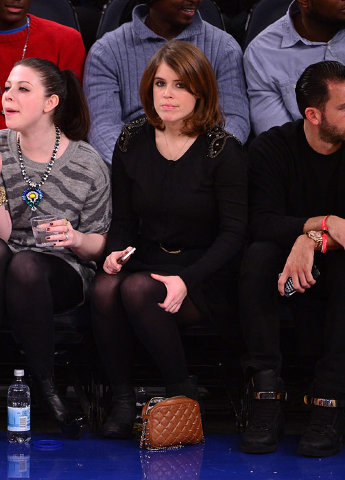 Wedding Gift Calculator New York : Princess Eugenie looks like a true New Yorker at basketball game ...