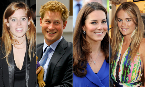 Prince Harry and Cressida Bonas to join royals at close friend Guy Pelly's wedding