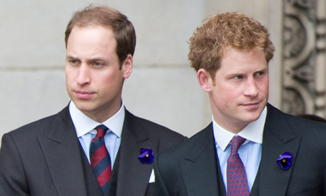 Princes William and Harry prepare to fly out for close friend Guy Pelly's wedding