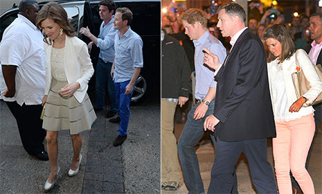 Prince Harry enjoys private dinner with friends in Memphis