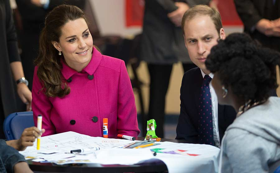 Wedding Gift Calculator New York : Duchess Kate and Prince William meet New York City teens from local ...