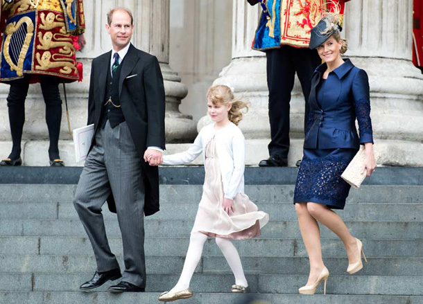 Countess Sophie of It, suffered her daughter really granddaughter, is