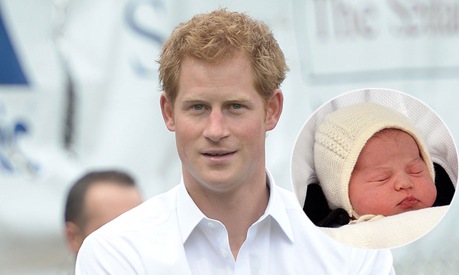 Prince Harry can't wait to meet his 'absolutely beautiful' niece