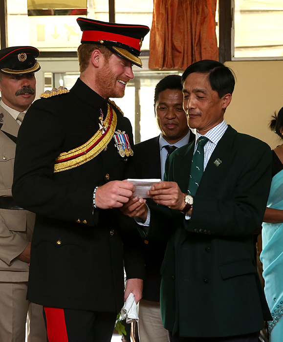 Prince Harry Stands Up For Women's Rights In Nepal