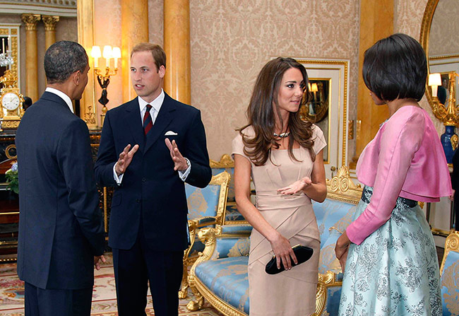 Kate Middleton Prince William And Harry To Host The Obamas
