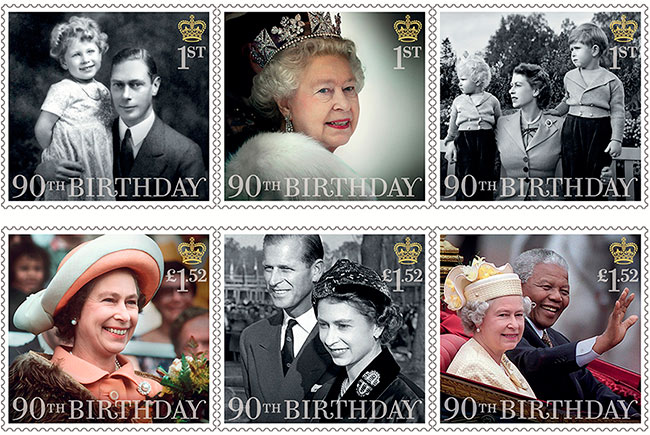 HMQ-90th-Birthday-stamps-full-set-