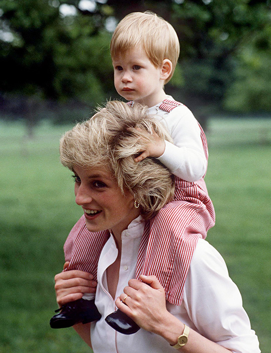 Prince Harry As A Child