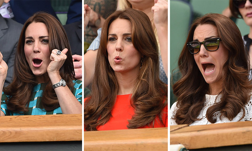 GALLERY: Kate Middleton's best Wimbledon moments