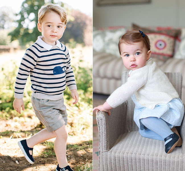 Prince George And Princess Charlotte Head Out On French