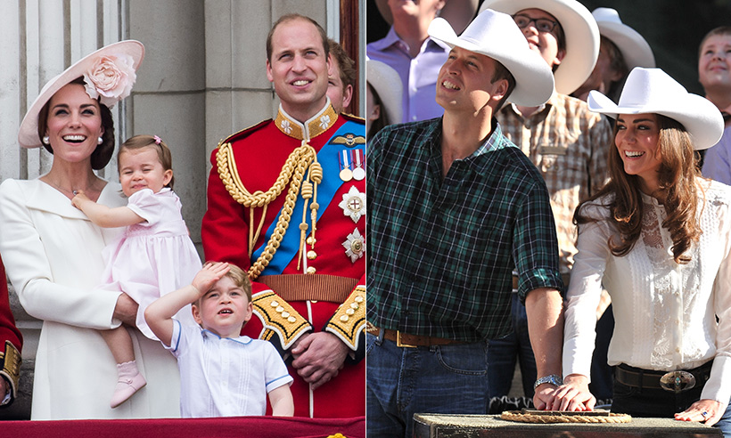 Confirmed! Prince George and Princess Charlotte will join Prince William and Kate on tour of Canada
