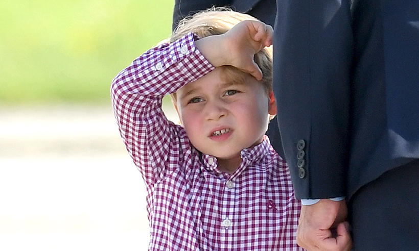 Kate teaching Prince George how to play tennis – and asks Judy Murray for advice