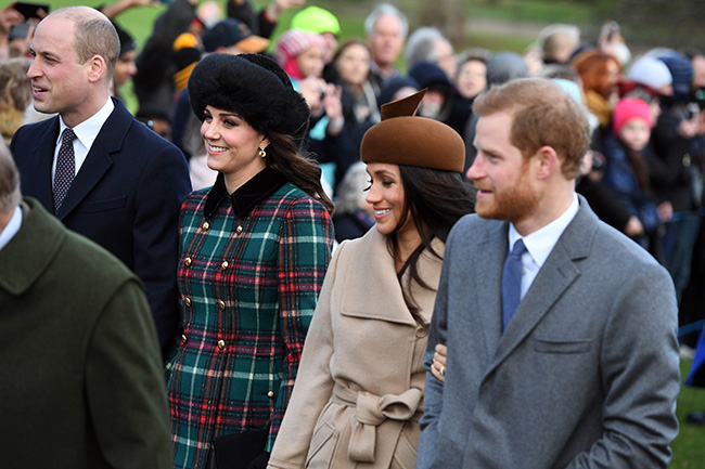 Kate Middleton, Prince William, Prince Harry and Meghan ...