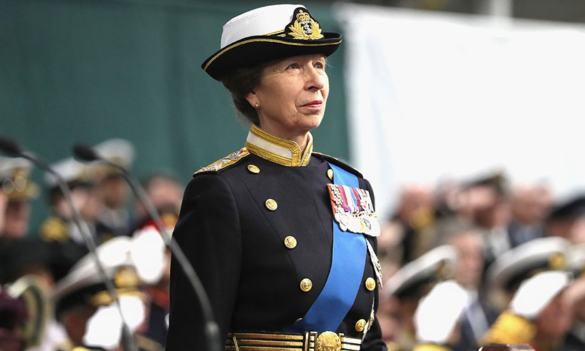 Princess Anne is busiest royal of 2017