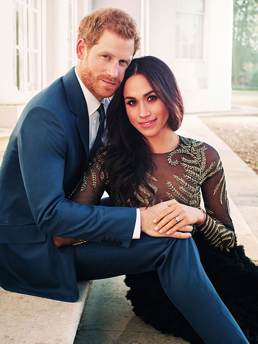 Meghan Markle and Prince Harrys engagement pictures
