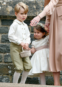 prince george princess charlotte pippa middleton wedding
