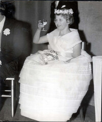 princess anne bridesmaid lady pamela mountbatten wedding 1960