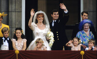 zara phillips sarah ferguson prince andrew wedding 1986