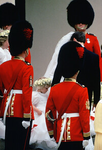 zara phillips bridesmaid zara legge bourke wedding 1988