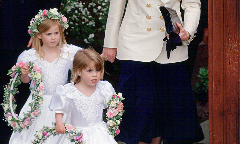 Gallery: All the times the royals have acted as bridesmaids and pageboys