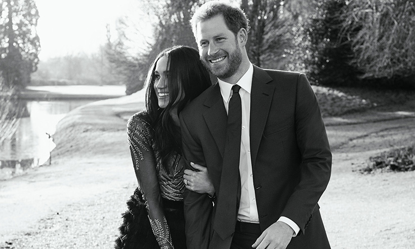 Prince Harry and Meghan's engagement pictures were taken at Frogmore House