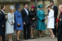 royal family easter church service1