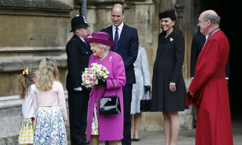 All the best photos from the royal's Easter church service