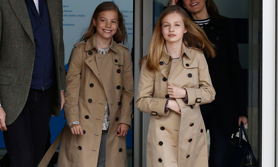 Spain's Princess Leonor and Infanta Sofia's matching style and sweet sisterly moments