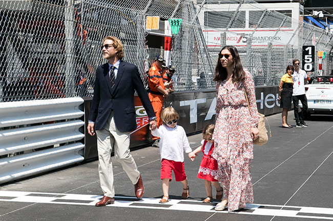 Tatiana Santo Domingo and Andrea Casiraghi