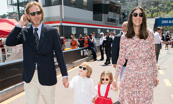 Tatiana Santo Domingo with her children