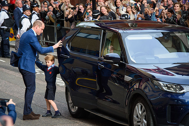 Prince William And Kate Middleton Upgrade To Seven Seater