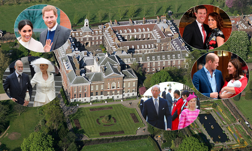 Who lives at Kensington Palace? Meet Prince Harry and Meghan Markle's royal neighbours
