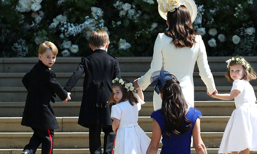 prince george and princess charlotte steal the show at