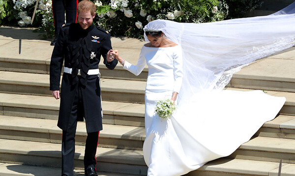 where did prince harry and meghan go after their wedding?