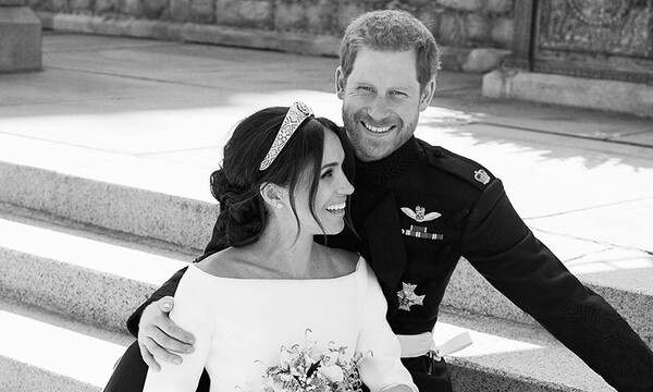 prince harry meghan wedding picture