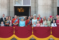 trooping-the-colour-royal-family