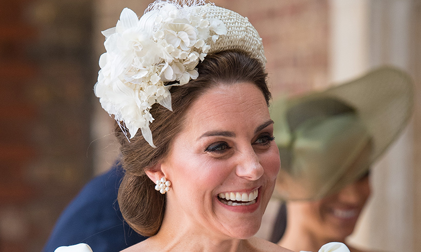 Kate Middleton Wore A Pair Of 163 4k Earrings To Prince Louis