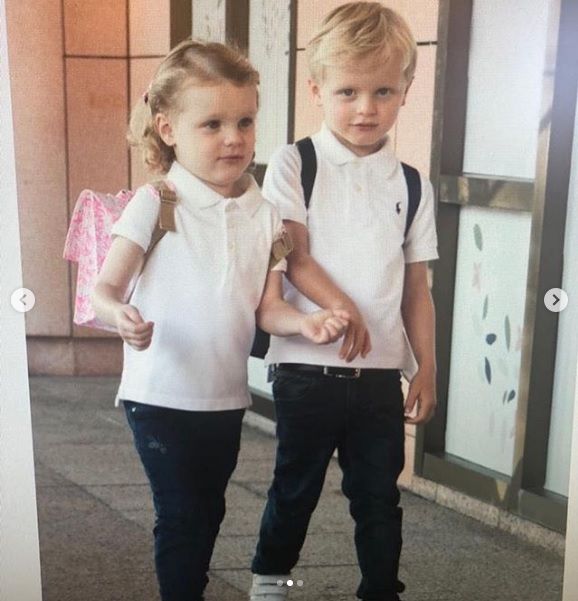 Princess-Charlene-children-Jacques-Gabriella-school-1