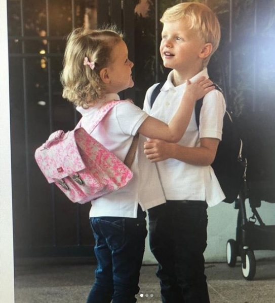 Princess-Charlene-children-Jacques-Gabriella-school