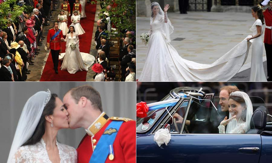 Prince William and Kate Middleton's royal wedding: A photo album