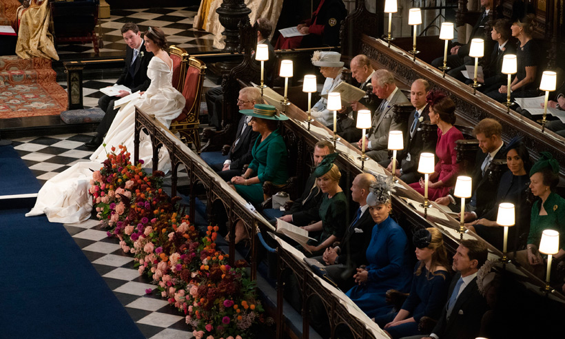 There was an empty seat at Princess Eugenie's royal wedding – find out why