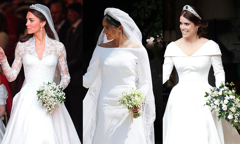 Eugenie followed Kate and Meghan with this post-wedding tradition