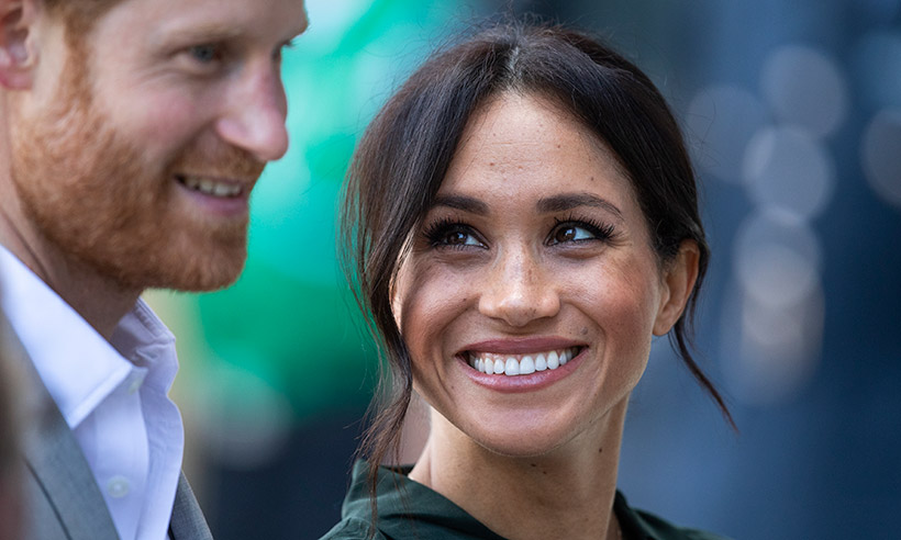 Meghan Markle with Harry