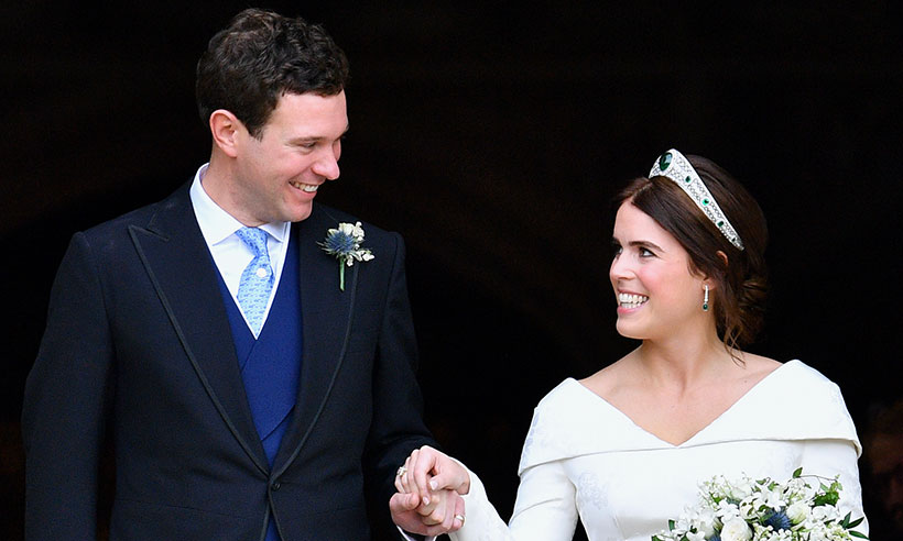 Princess Eugenie releases new wedding photo with Prince George and Princess Charlotte