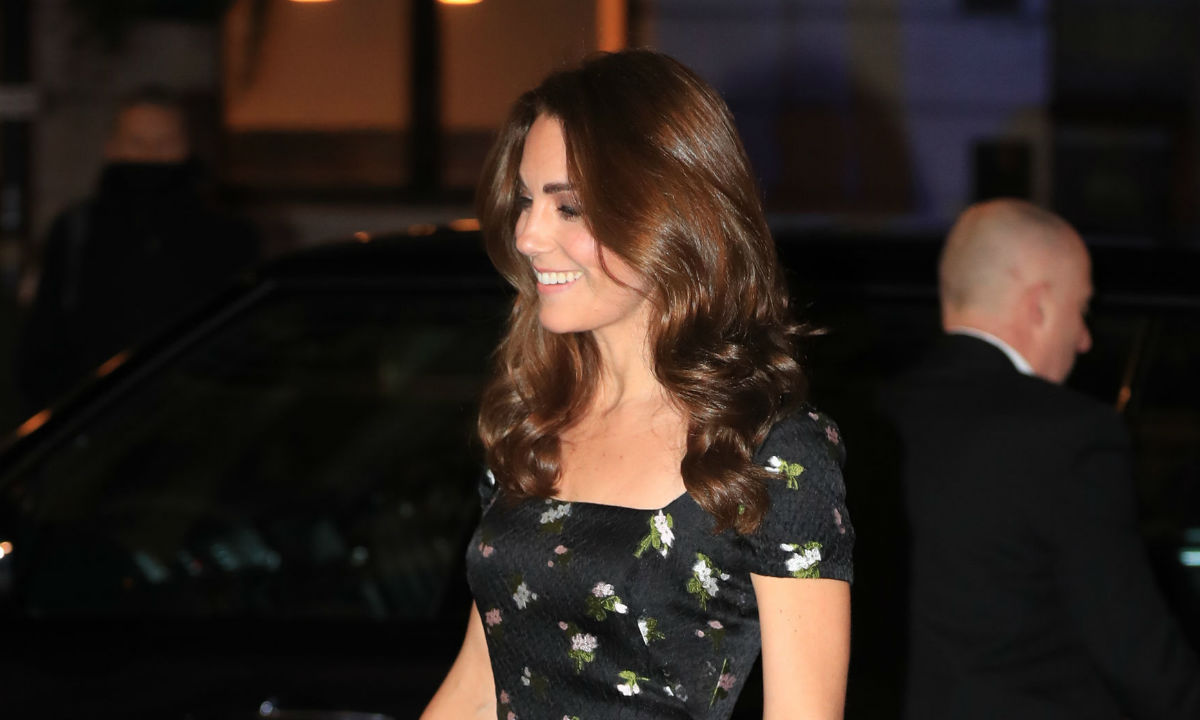 Kate Middleton joins Princess Beatrice, David and Victoria Beckham at the National Portrait Gallery gala