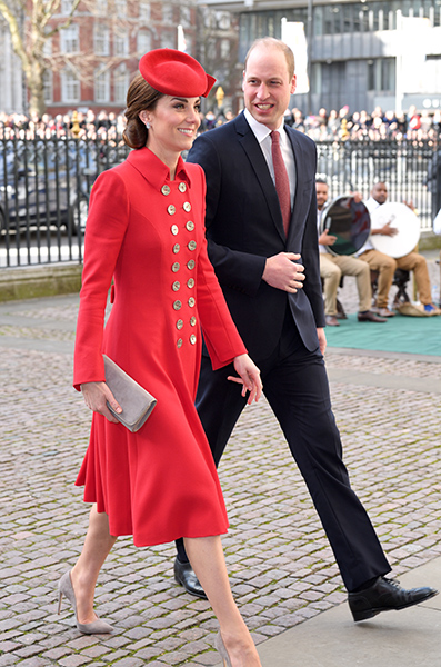 kate-middleton-in-red-coat-dress