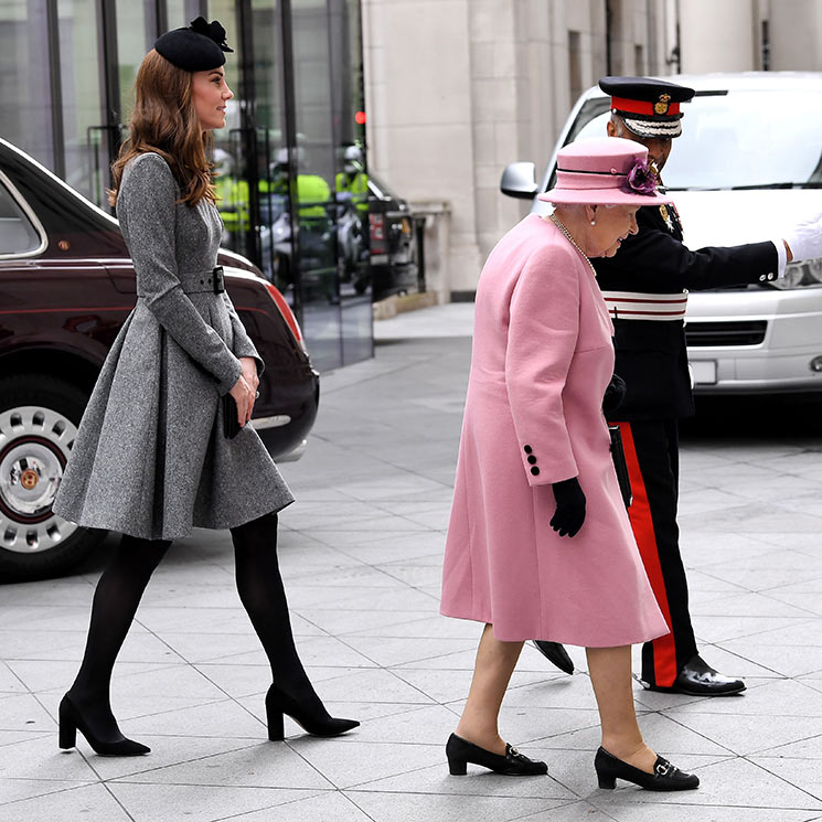 Kate Middleton and the Queen: all the pictures from first joint engagement